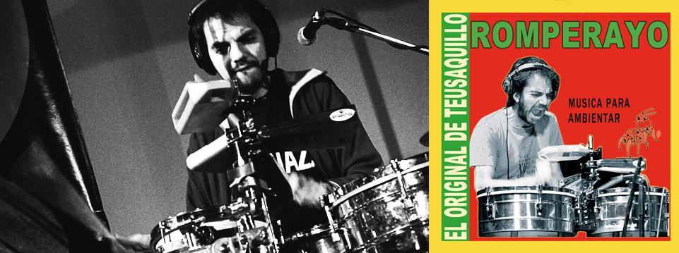 """Pedro Ojeda """"ROMPERAYO"""" Soundsystem en vivo RADIOMIXTICIUS,Yo no quiero tomar tetero con un policia"""